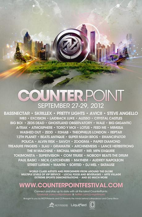 Counterpoint Music Festival Announced for September
